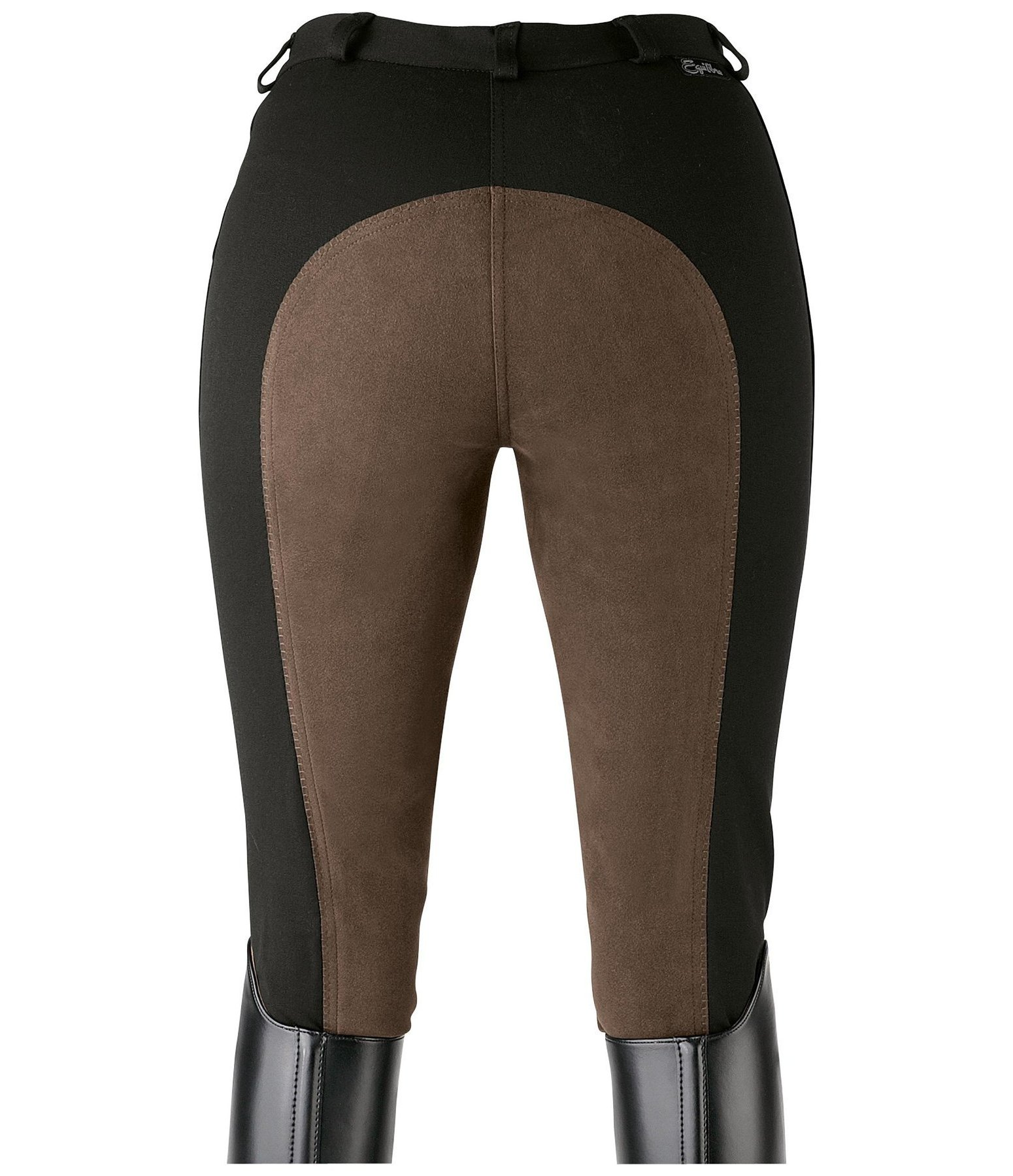 Damen-Vollbesatzreithose Super-Stretch Two Tone
